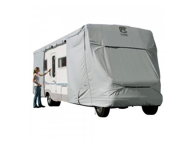 Classic Accessories 80-129-161001-00 PERP CLASS C RV COVER GREY-MDL 3-1CS