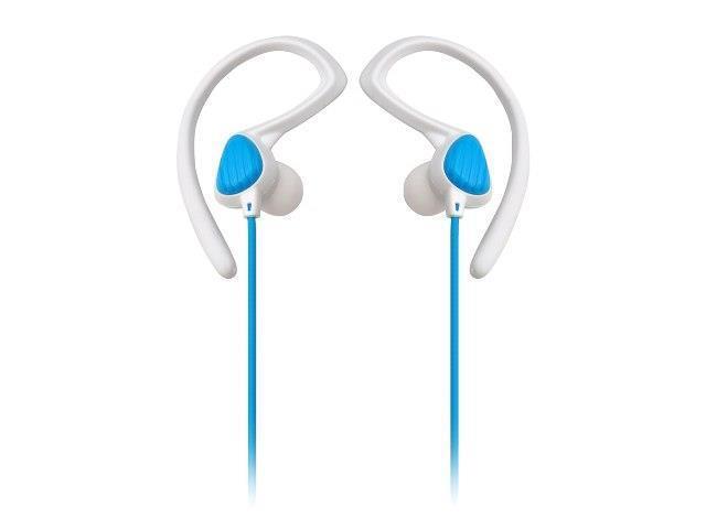 Sound Around-Pyle PWP20W Waterproof Aqua Sport Headphones, White - Blue