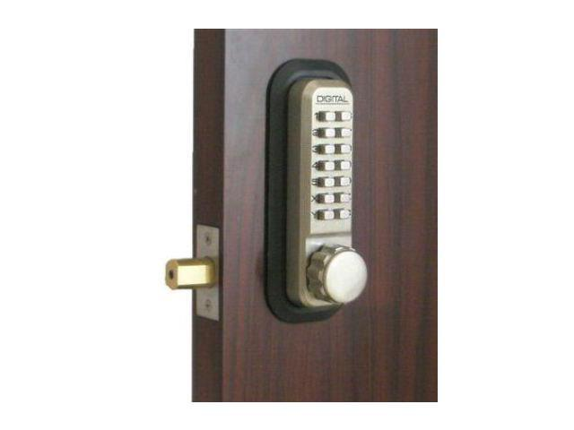 Lockey 2210-AB-DC Mechanical Keyless Deadbolt Double Sided Combination - Antique Brass
