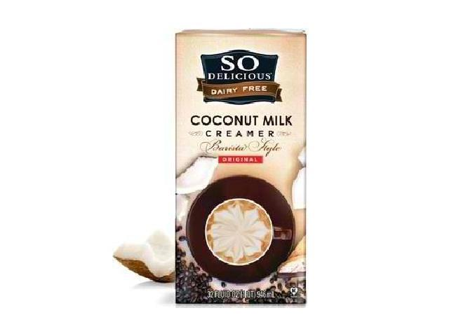 So Delicious BG18290 So Delicious Coconut Milk Crmr Org - 6x32OZ