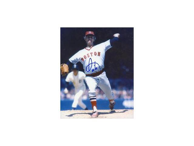 Real Deal Memorabilia BLee8x10-2 Bill Lee Autographed Boston Red Sox 8x10 Photo - SPACEMAN