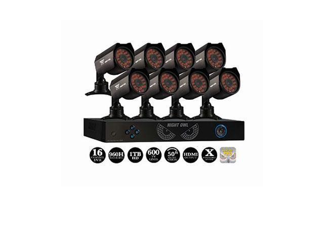 Night Owl PRO-1681TB 16 Channel Dvr 8 Cameras
