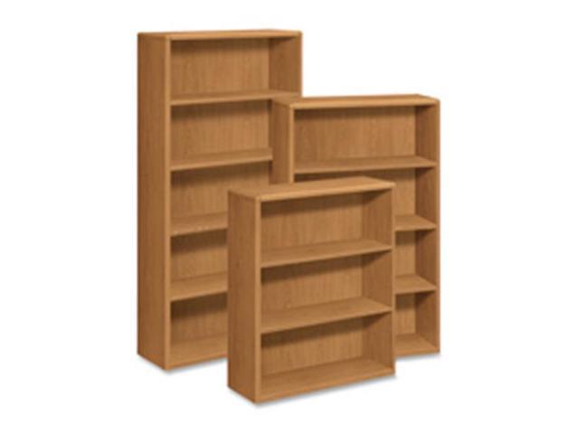 The Hon Company HON10755CC 5-Shelf Bookcase, 36 in. x 13.13 in. x 71 in., Harvest