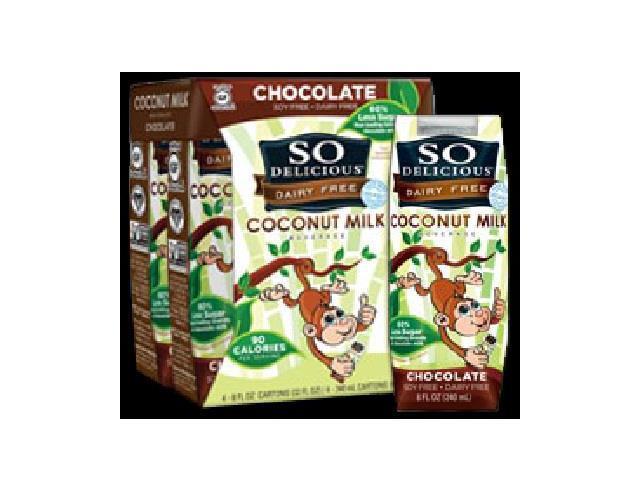 So Delicious BG18287 So Delicious Coconut Milk Chocolate - 6x4Pack