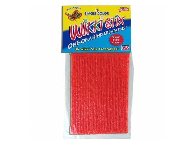 Wikki Stix WIKKI-826 Wikki Stix 6 in. 36-Pkg-Orange