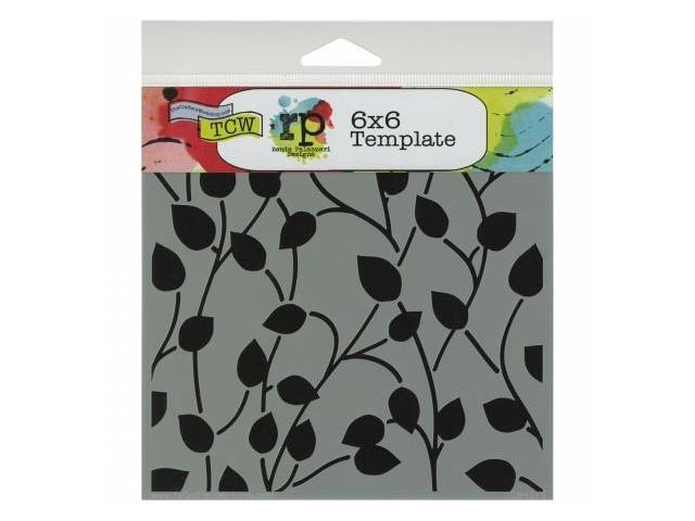 Crafters Workshop TCW6X6-428 Crafters Workshop Template 6 in. X6 in. -Climbing Vine
