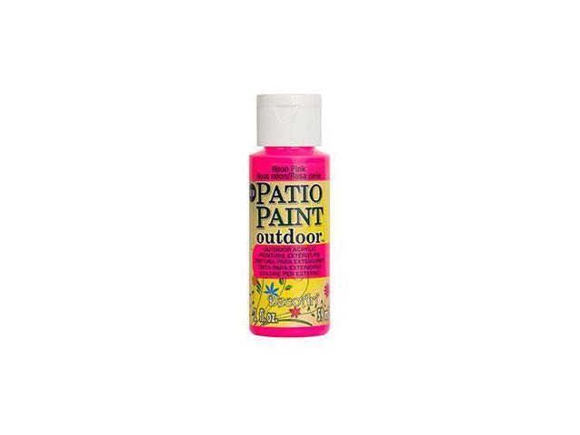 Deco Art DCP-85 Patio Paint 2oz-Neon Pink