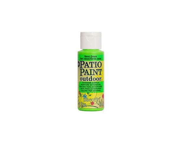 Deco Art DCP-86 Patio Paint 2oz-Neon Green