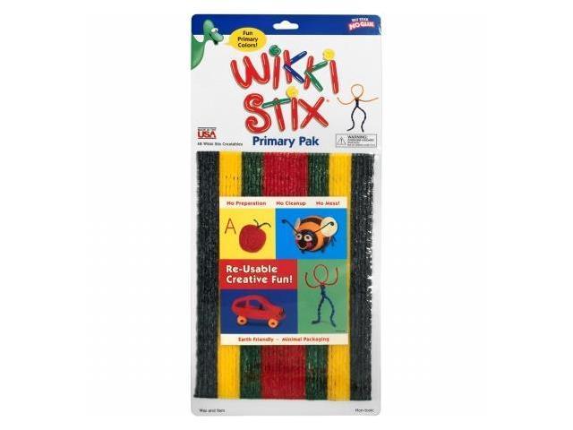 Wikki Stix WIK803 Wikki Stix Assorted Pkg-Primary