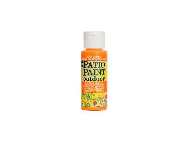 Deco Art DCP-89 Patio Paint 2oz-Neon Orange