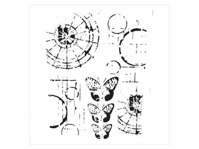 Crafters Workshop TCW-454 Crafters Workshop Template 12 in. X12 in. -Specimens