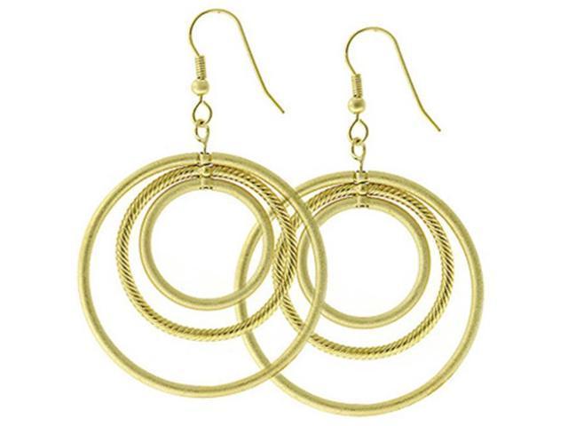 J Goodin E01615K-V01 Golden Illusion Earrings