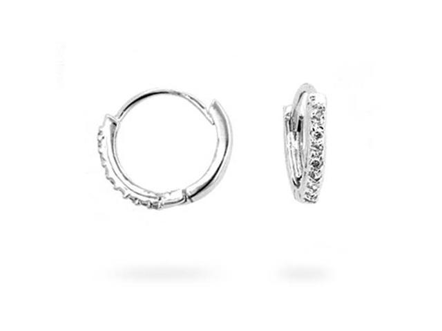 J Goodin E01648R-C01 Classic Tiny Hoop Earrings