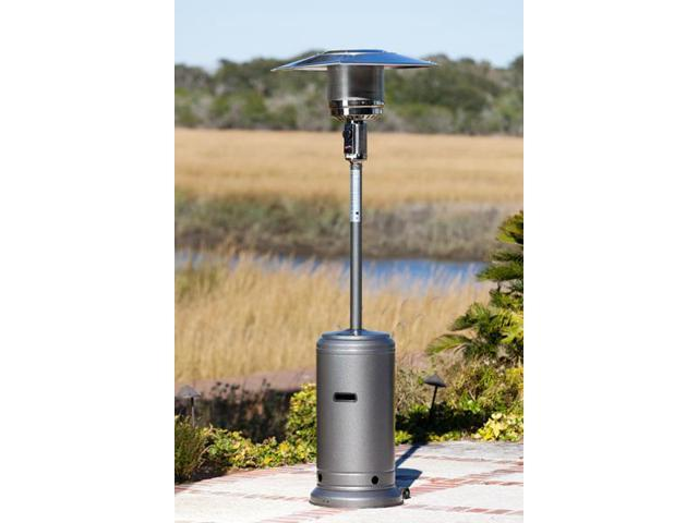 Well Traveled 61285 Hammer Tone Silver Standard Series Patio Heater
