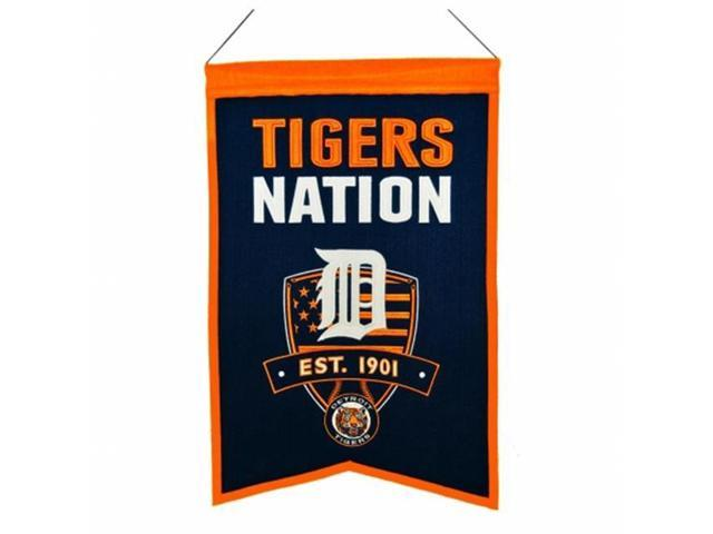 Winning Streaks Sports 30502 Detroit Tigers Nations Banner