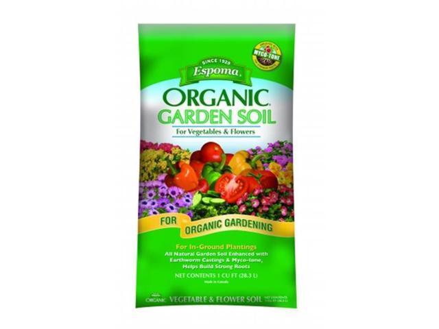 Espoma organic garden soil for vegetables and flowers 1 for Organic soil solutions