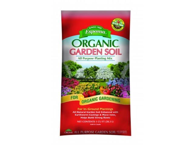 Espoma organic garden soil all purpose planting mix 1 for Organic soil solutions