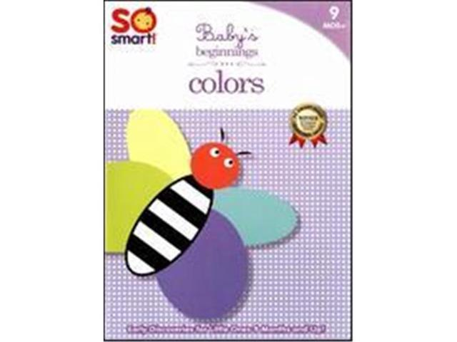 Bayview Entertainment BAY464 SO SMART - BABYS BEGINNINGS: COLORS