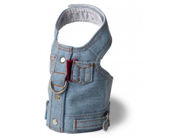 Doggles HAVJXS04 XS Harness Jean Jacket - Blue