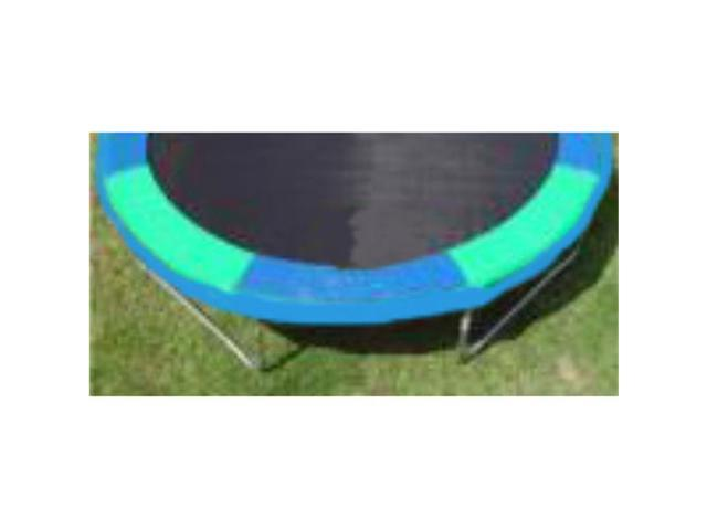 Trampoline Parts and Supply 12V-T-BG 12ft. Round Standard Trampoline Safety Pad - Blue and Green Alternating