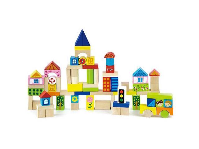 Original Toy Company 50287 City Blocks 75 count