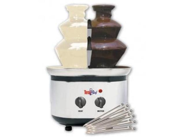Koolatron WTF-43E Total Chef Double Chocolate Fondue Fountain