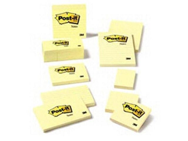 3M COMPANY MMM653YW NOTES POST IT YELLOW 1 1/2 INCH X 2 INCH-**SOLD AS DOZEN**