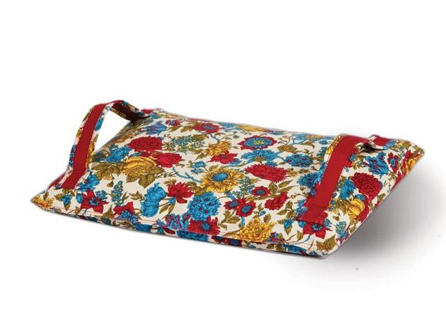 Picnic Plus ACG-501FL Garden kneeling pad with carry handles - Floribunda