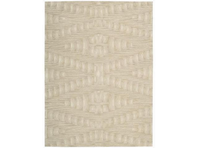 Nourison 30 Moda Area Rug Collection Shell 3 ft 6 in. x 5 ft 6 in. Rectangle
