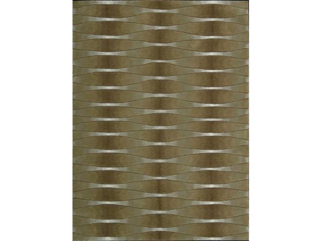 Nourison 5443 Moda Area Rug Collection Khaki 3 ft 6 in. x 5 ft 6 in. Rectangle
