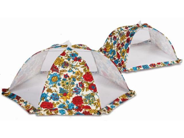 Picnic Plus ACM-728FL Food cover tent umbrellas set of 2 - Floribunda