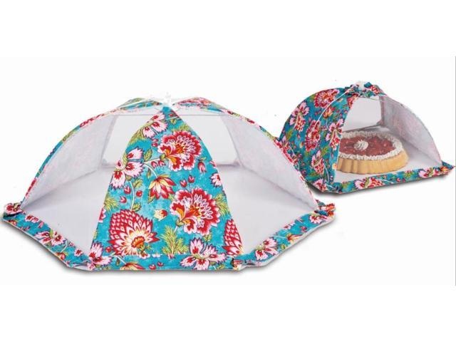 Picnic Plus ACM-728MT Food cover tent umbrellas set of 2 - Madeline Turquoise