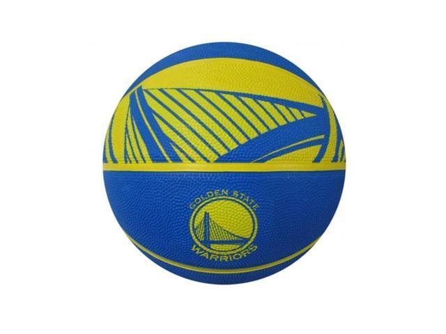 Spalding 73084E NBA Courtside Team Basketball - Golden State Warriors