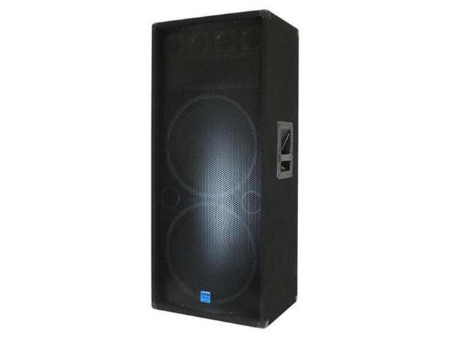 GCI TECHNOLOGIES GSM3250 300 W RMS Speaker - 3-Way - 35 Hz to 20 kHz - 4 Ohm - Stand Mountable - Black