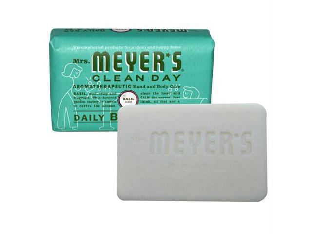 Mrs meyers basil bar soap