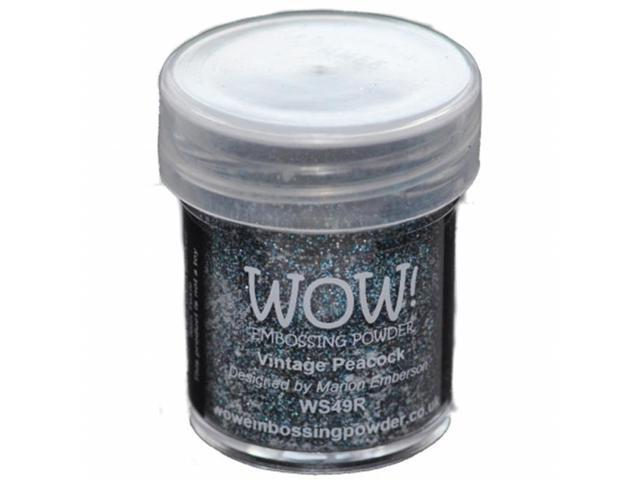Wow Embossing Powder WOW-WS49R WOW Embossing Powder 15ml-Vintage Peacock