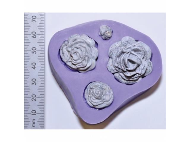 Wow Embossing Powder WMOULD26 WOW 3D Molds-Rose Quartet