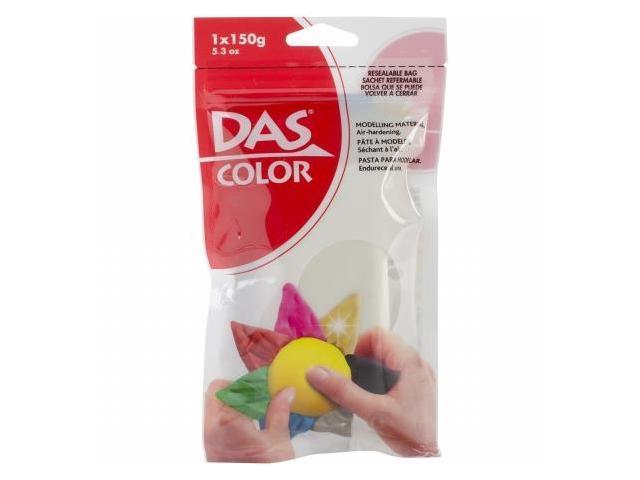 Das Colored Air Dry Clay 5.3 Ounces-White