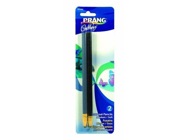 Dixon Ticonderoga 60300 Dixon Ticonderoga 60300 Artist Charcoal Pencil Set 2 Count