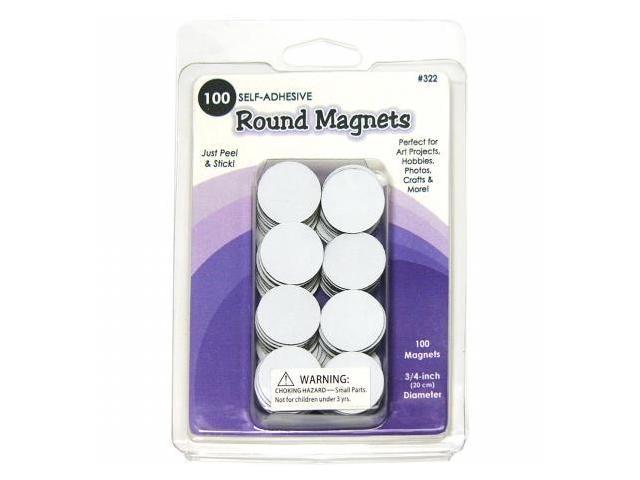 Round Magnets 100/Pkg-.75