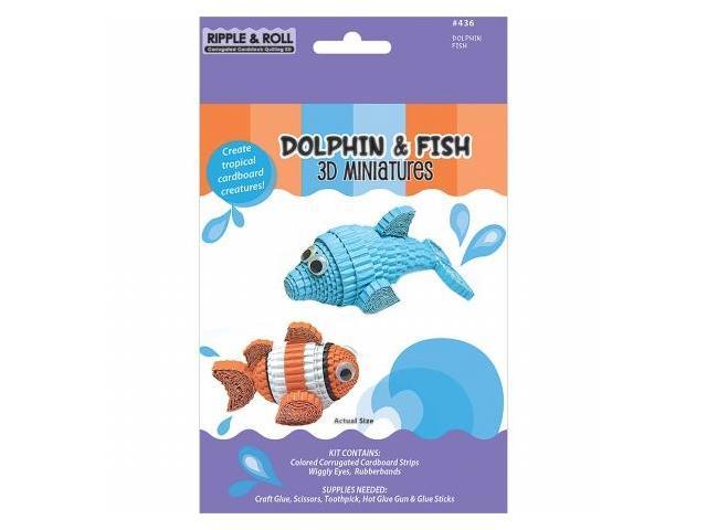 Quilling Kit-Dolphin & Fish