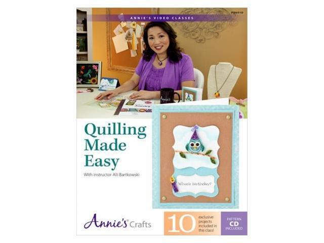 Quilling Made Easy Dvd-