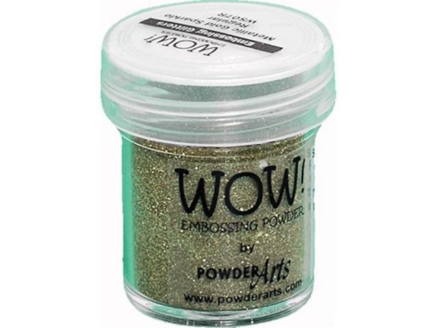 Wow Embossing Powder WOW-WS07R 15ml-Metallic Gold Sparkle