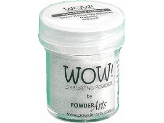 Wow Embossing Powder WOW-WS11R 15ml-Silver Hologram Sparkle