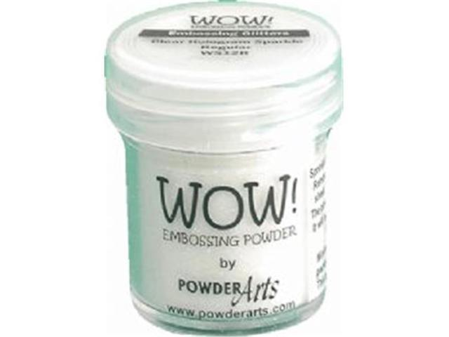 Wow Embossing Powder WOW-WS12R 15ml-Clear Hologram Sparkle
