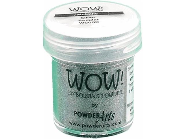 Wow Embossing Powder WOW-SF-WC05 Super Fine 15ml-Silver