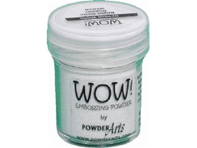 Wow Embossing Powder WOW-SF-WL01 Super Fine 15ml-Opaque Bright White
