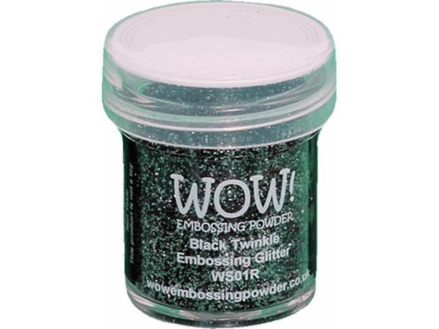 Wow Embossing Powder WOW-WS01R 15ml-Black Twinkle