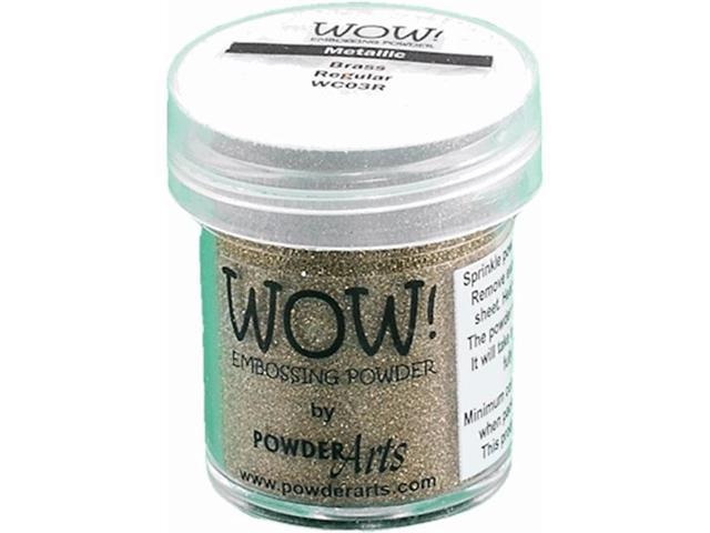Wow Embossing Powder WOW-WC03R 15ml-Brass