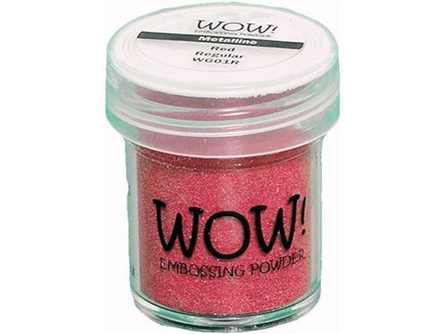 Wow Embossing Powder WOW-WG01R 15ml-Red Metalline